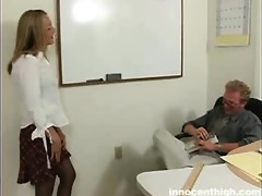 nice-looking lexie seducing her teacher to sex