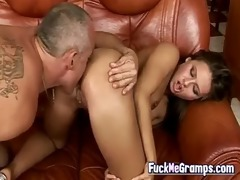 exotic playgirl keen on aged fellows
