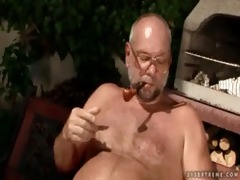 cherry kiss and granddad pissing