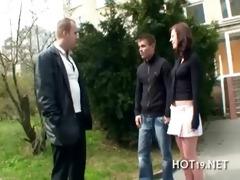 stranger copulates agreeable girl