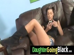 see how my daughter is drilled by a dark guy 60