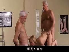 hawt old youthful trio fuck