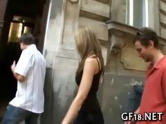 his girlfriend getting fucked hard