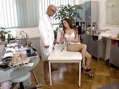 pervert doctor for nasty babe...f114