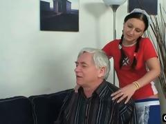 old chap bonks his hawt maid