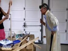 juvenile snatch vs old cock