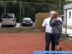bulky guy is fucking a balt juvenile hotty