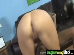 youthful daughter with wonderful wazoo screwed by