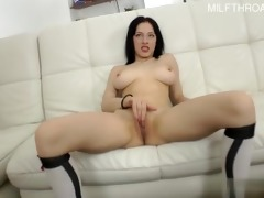 hawt daughter anal try-out