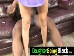 trespassing teen gets interracial 72