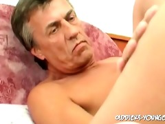 57yo guy bonks three-some youthful cum-hole