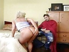 hawt blond cougar bangs younger after haircut