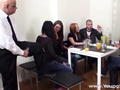 juvenile sex parties - sex party with mature