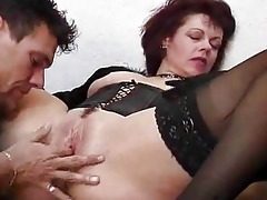 juvenile lad acquires schooled by an older woman