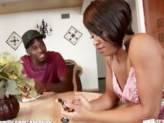 hot swarthy girl screwed by her step brother