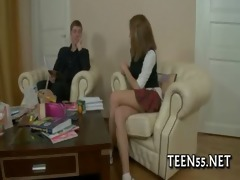 horny legal age teenager drilled and creamed