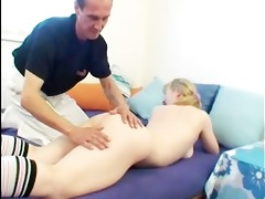 old chap cums on cute sweetheart