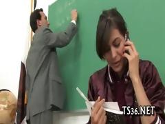 posh schoolgirl acquires schlong