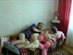 eager russian family fuck