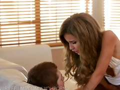 nubile films - gooey facial for diminutive teen