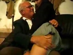 grand daddy and father chastise their bad