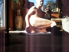 riding a plump large dick