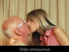 sexy youthful cutie gina fucking wrinkled grandad