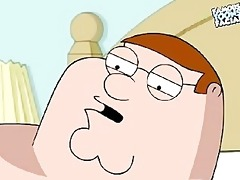 peter and lois griffin from family chap having sex
