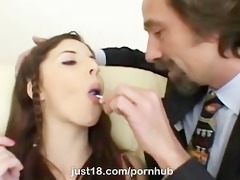 hawt gal karina kay screwed by aged guy