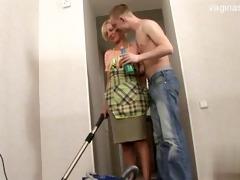 75 years old daughter gagging